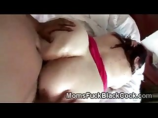 Amateur bbw takes a big black dick in big fat ass video
