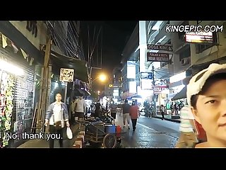 North korean defector picking up thai girls hidden camera