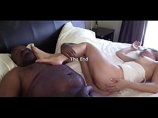 Big Max bareback bbc on the bed with petite bonde wife Mandy Monroe