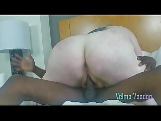 FAT SLUT VELMA VOODOO ROUGH FUCKED BY HUGE BLACK COCK