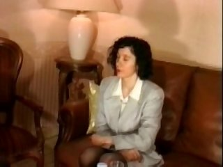 French mature in stockings analfisted