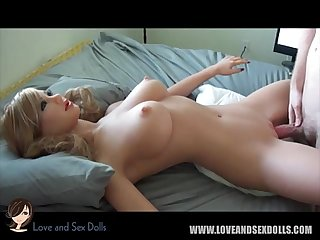 Sex doll blow job tit fuck and hard fuck compilation tpe silicone www loveand