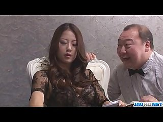 Satomi suzuki feels more than one cock cracking her vag