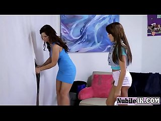 Brunette milf and teen glory hole suck blowjobughter