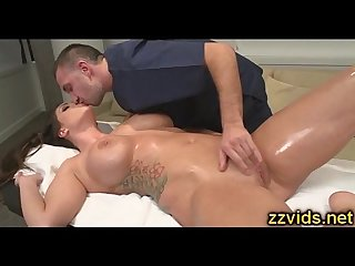 Booty Alison Tyler fucked after massage