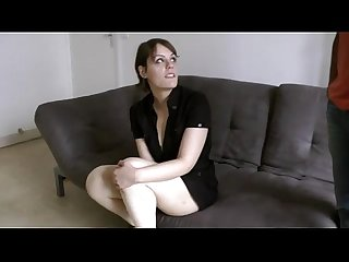 Elodie a brunette who loves to get fucked by blacks