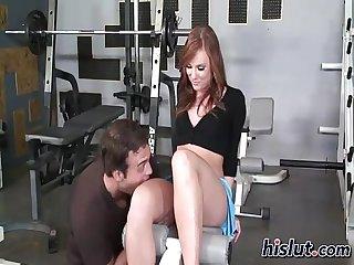 Dani gets a workout