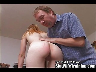 Nasty anal whore ass licking slut wife