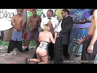 Krissy Lynn Can't Wait To Has 8 Black Dicks Stuff Her Face