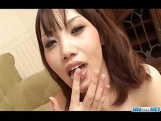 Sensual ageha kinashita craves to swallow some jizz