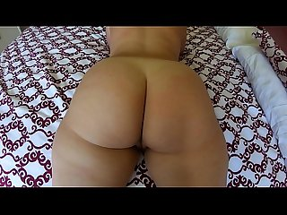 Big Booty PAWG Makes Cock Cum with Juicy Ass