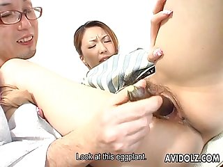 Japanese dolly tomoe hinatsu sucks and fucks uncensored