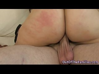 Real older stepmom jizz