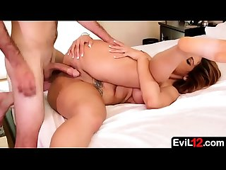 Shameless hot stepmom sucks and fucks a young stepson