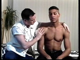 VCA Gay - Black Leather White Studs - scene 1