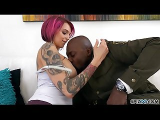 Spizoo anna bell is punished by A monster Bbc big boobs big Booty