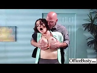 Superb girl krissy lynn with big tits get hardcore sex in office movie 22