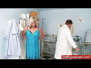 Amateur housewife nada visits her gyno medic