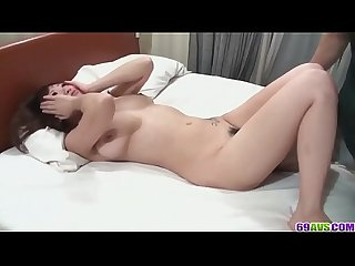 Perfect scenes of home sex with hairy Asami Uemura - More at 69avs com