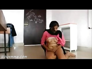 Indian Desi teachers having Sex in the classroom part 2 hot