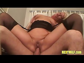 Lustful Blonde Milf