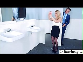 Hard sex tape in office with big round tits sexy girl Rachel roxxx video 28