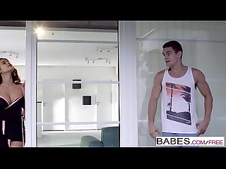 Babes - Step Mom Lessons - Peeping Tom starring Coco de Mal and Billie Star and Max Dior clip