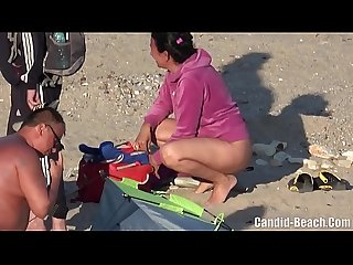 Nude beach candid camera hidden voyeur