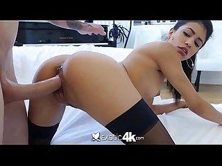 Exotic4k morena latina mamando e sendo rasgada pelo brancao