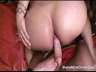 Hot Tranny Fucked On Her Ass