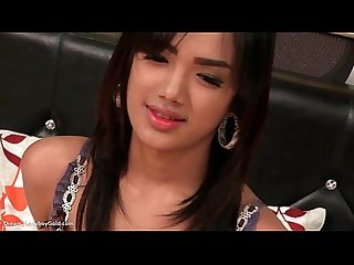 Ladyboy dream bareback action