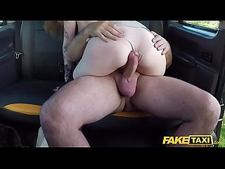 Fake Taxi Panty stuffing redhead love a good rough fucking