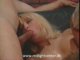 Cheating blond stacy valentine fucked by two hung guys