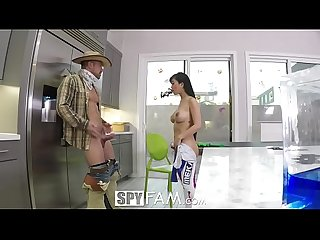 Spyfam overwatch halloween disguise fuck with step sister jade kush