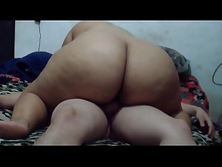 Homemade porn video having sex with my husband and when I come I masturbate him so he can..