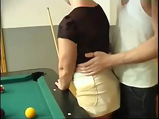 Milf anal fuck after billiards - continue with her - sweetmilfcams.com