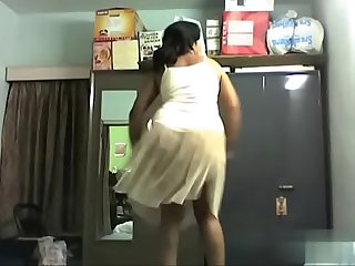 Horny aunty nude dance for bollywood song