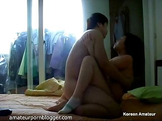 Amateur Korean fuck