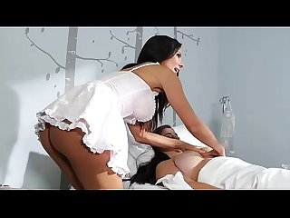Sexy nurse kirsten checks taylor vixen s temperature