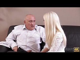 DADDY4K. Horny blondie wants to try someone little bit more experienced