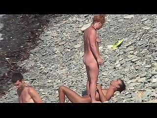 Hot european amateur nudists in this voyeur compilation