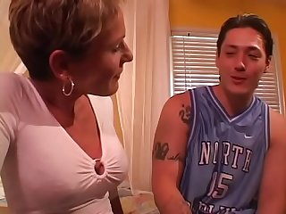 Short haired slut Tara loves to ride a cock and then get jizzed on her face