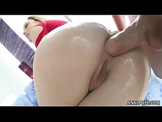 Lily labeau enjoys deep anal sex evil angel