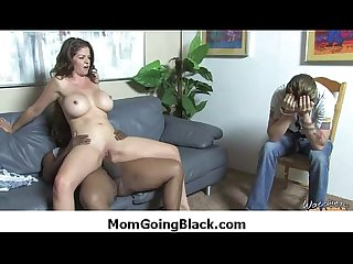 See my mom go black adorable hardcore interracial scene 17