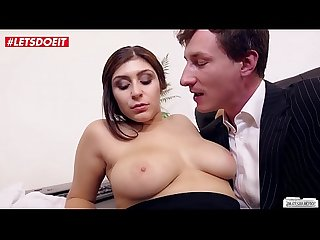 LETSDOEIT - Naughty German Secretary Drains Her Boss Of Cum (July Johnson)