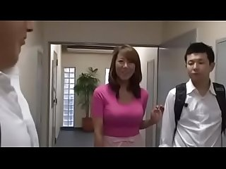 Busty japanese moms and their sons