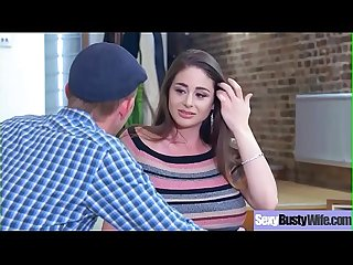 Hot Big Tits Housewife (Cathy Heaven) Get Banged Hard Style On Tape vid-08