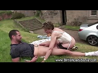 Outdoor fucking lady sonia ii