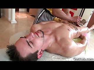Dude gets his huge pierced dick massaged 4 by gotrub