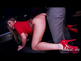 British blonde stunner Lexi Lowe fucks a huge black cock like a pro